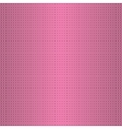 Dotted pink pattern vector image vector image