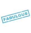 Fabulous Rubber Stamp vector image vector image