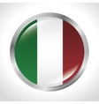 italy flag isolated icon vector image vector image