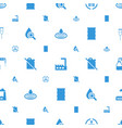 oil icons pattern seamless white background vector image vector image
