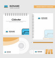 online shopping logo calendar template cd cover vector image vector image