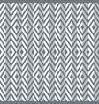 seamless diamonds and zigzags pattern vector image vector image