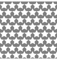 Seamless Star Monochrome Background vector image vector image