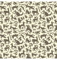 animals - abstract seamless background vector image vector image