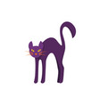cat icon isolated vector image