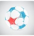 Creative football vector image