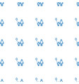 father and son icon pattern seamless white vector image vector image