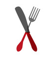 fork and knife icon image vector image vector image