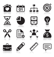 Internet web icons set vector | Price: 1 Credit (USD $1)
