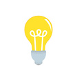 Lightbulb idea vector image vector image