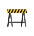 Prohibitory road sign icon flat style vector image vector image
