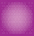 snowflakes backgrounds pink vector image vector image