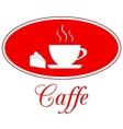Caffee design vector image
