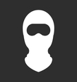 balaclava or ski mask - face mask terrorists vector image