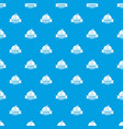cleaning purity pattern seamless blue vector image vector image