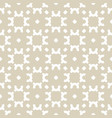 gold and white abstract geometric background vector image vector image