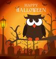 Happy halloween design vector image vector image