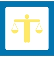 Lawyer icon vector image vector image