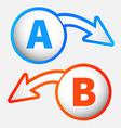 Modern labels vector image vector image