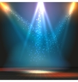 Show or dance floor background with vector image vector image
