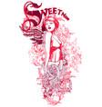 sweetness vector image vector image