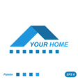 Your home logo concept vector image