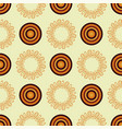 abstract mandala in an african style seamless vector image vector image