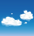 background with clouds vector image vector image