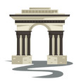 empire style arch or building columns or pillars