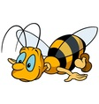 Flying Bumblebee vector image