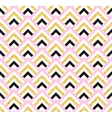 Geometric pink black and gold glittering seamless vector image vector image