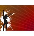 girl dancer vector image vector image