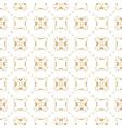 gold and white background abstract geometric grid vector image vector image
