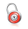lock icon vector image
