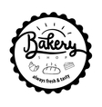 Logo or label for bakery and bread shop vector image vector image