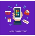 mobile marketing concept art