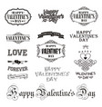 photo overlays hand drawn lettering collection vector image