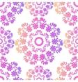 Pink Mandala Seamless Pattern vector image vector image