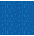 number one blue seamless pattern vector image