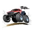 Cartoon Monster Buggy vector image vector image