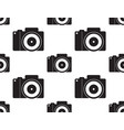 dslr camera seamless vector image vector image
