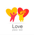 Love couple vector image