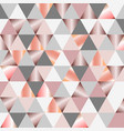 low poly abstract design vector image vector image