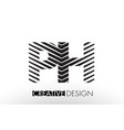 ph p h lines letter design with creative elegant vector image vector image