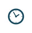 Wall clock icon vector image vector image