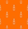 bottle of vodka pattern seamless vector image vector image