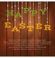 Easter greeting card with place for text vector image vector image