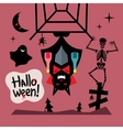 Halloween Concept Cartoon vector image vector image