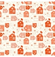 Home sweet home house silhouette and outline vector image vector image
