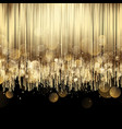luxury abstract gold background vector image vector image
